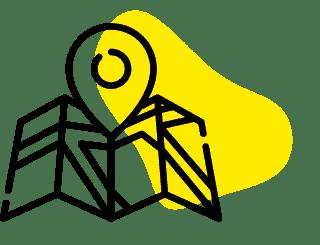 map jaune